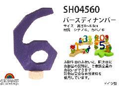 SH04560 バースディナンバー6