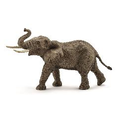 SC14762 アフリカ象(オス) シュライヒ・ミニチュア動物シリーズ