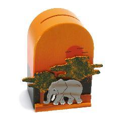 WE-11 貯金箱 ゾウ
