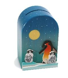 WE-12 貯金箱 ペンギン