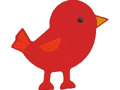 120187 小鳥(レッド)
