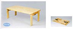 AE-60-a 角テーブル角脚折畳 120×60 角脚折畳<H30>
