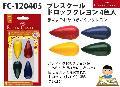 FC-120405 プレスクール ドロップクレヨン4色入