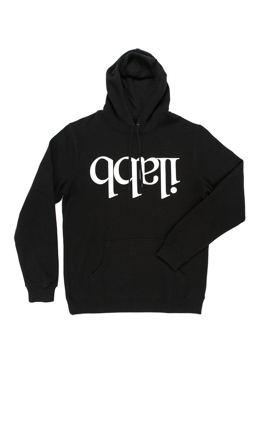 Capsize Fleece Hood - Black パーカー