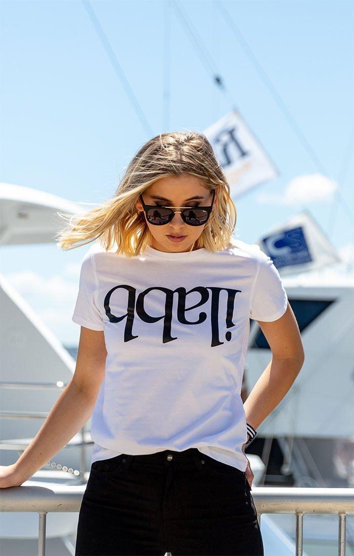 Capsize Tee Womens - White Tシャツ
