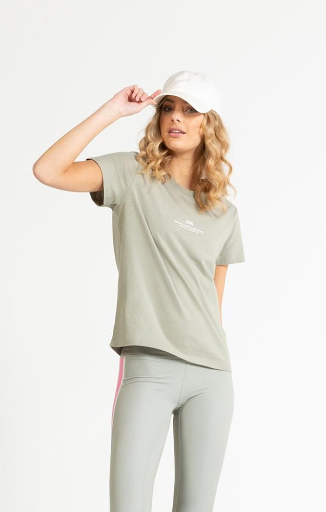 Coordinates Tee Womens - Moss Tシャツ