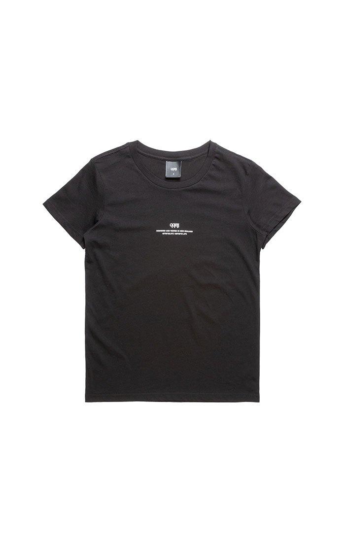 Coordinates Tee Womens - Black Tシャツ