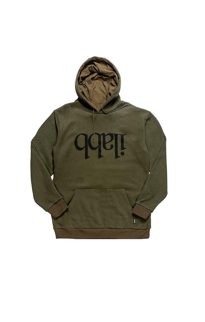 Capsize Fleece Hood - Army Green パーカー