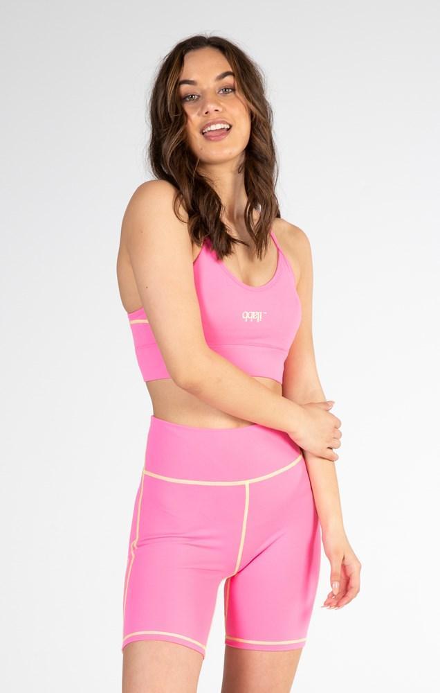 Miami Bra - Pink Womens スポーツブラ