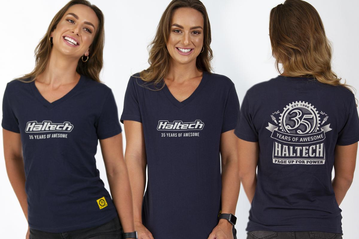 Haltech 35th Anniversary Womens Tシャツ