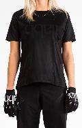 Don Race Tee Womens - Black ライドシャツ