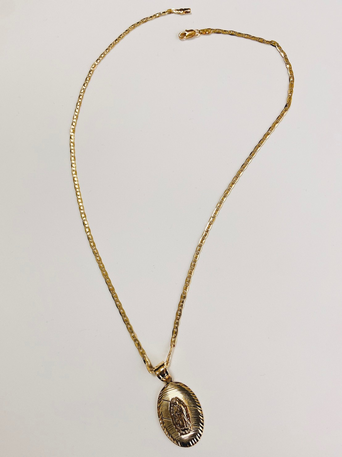 Oval Coin Chain