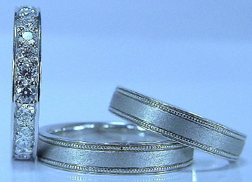 エンゲージダイヤモンド&マリッジリング