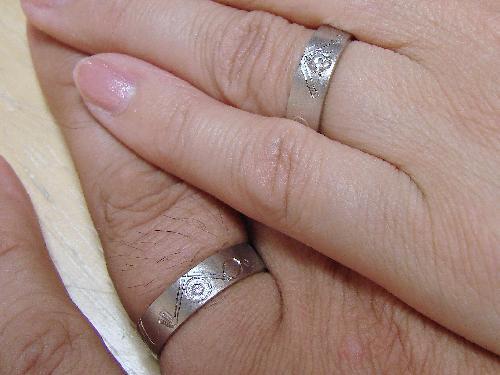 マリッジリング お客様の声 S様ご夫妻 ご結婚25周年 2本目のマリッジリング