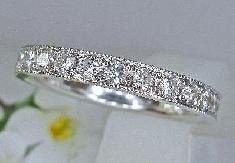 エタニティーリング ダイヤモンド(0.60ct)ミル打ち