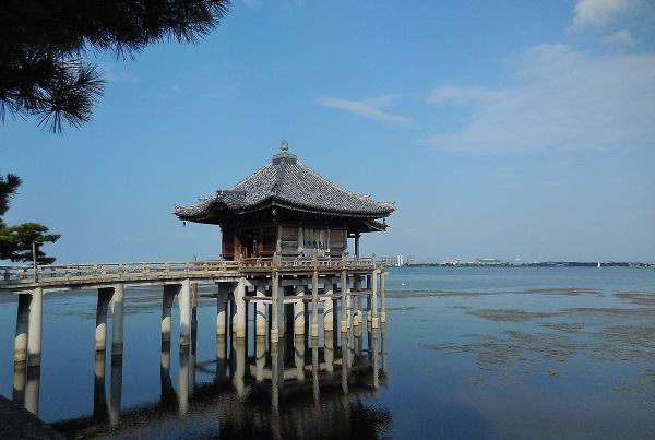 琵琶湖の眺望は素晴らしい光景でした、、