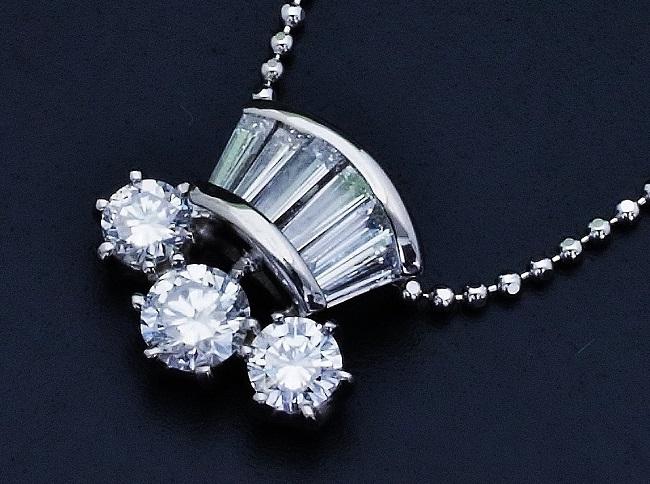 蘇るリフォーム ダイヤモンドタイバーカウスセット〜ダイヤモンドネックレスへ