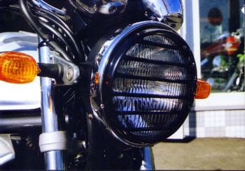 丸型ヘッドライトルーバー PK1300
