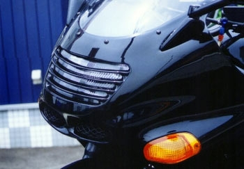 ヘッドライトルーバー 黒ゲル PK1280