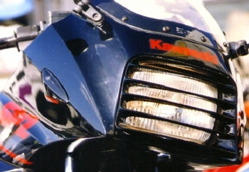 ヘッドライトルーバー ブラック PK1010
