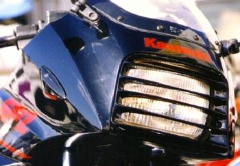 ヘッドライトルーバー レッド PK1011