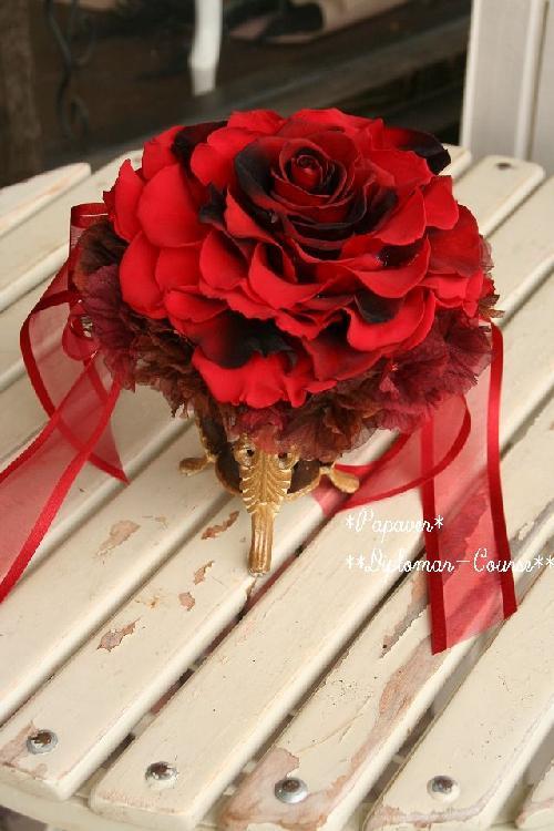 赤バラのメリアブーケ