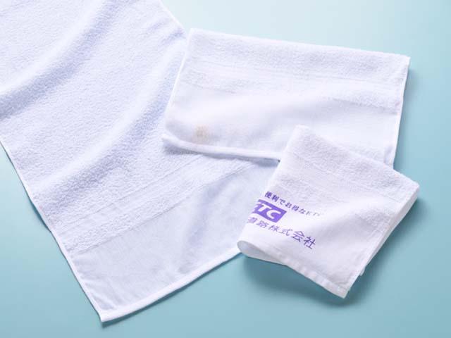ノベルティタオル、印刷タオル