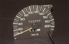210kmメーター ランクル80用