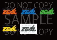 ステッカー ZEAL カラーバージョン