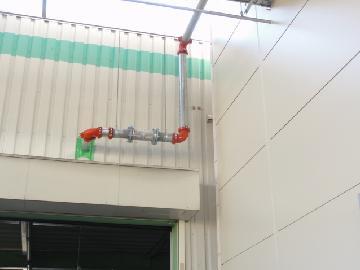 屋外消火栓設備配管
