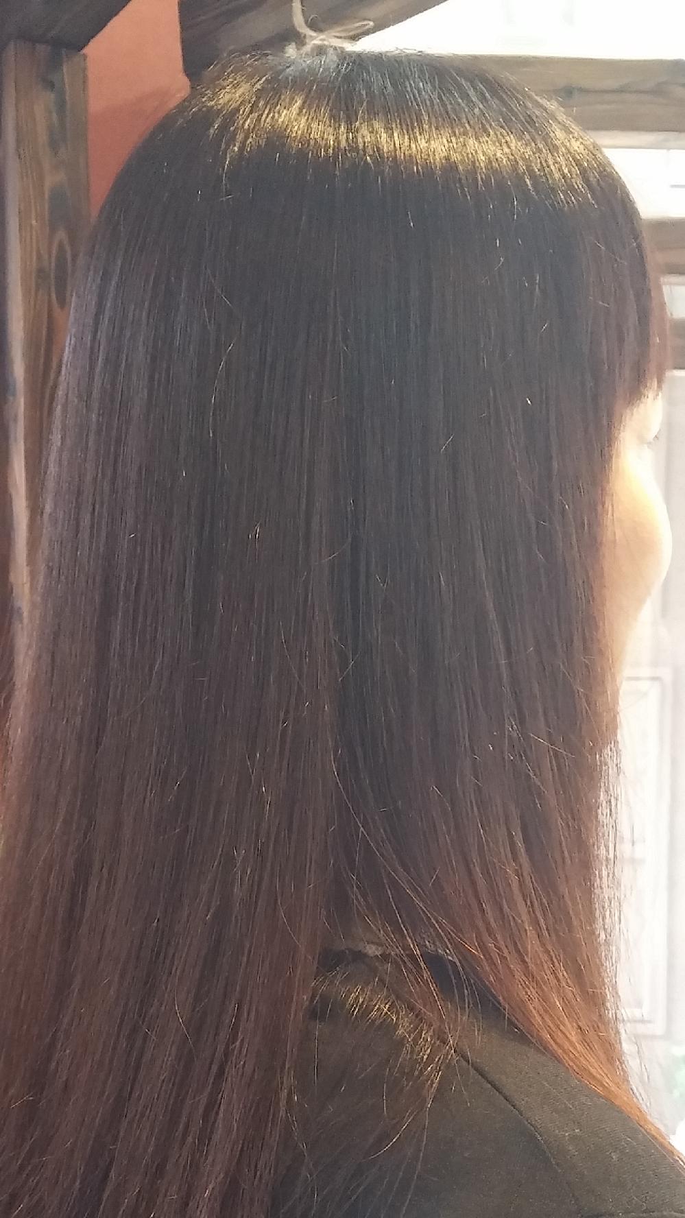 艶髪は、この季節にもピッタリ