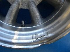 ワタナベ アウターリムまがり ひび割れ修理