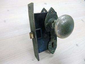 ドアノブアンティークピューター ADP-03