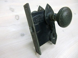 ドアノブアンティークピューター ADP-14