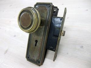 アンティークドアノブブラス ADB-06