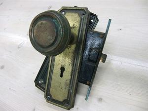 アンティークドアノブブラス ADB-08