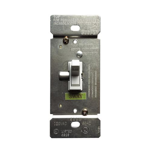 トグル調光器 片切り/3路兼用(ホワイト) EATON