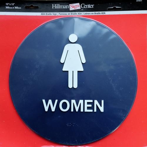 サインプレート WOMEN