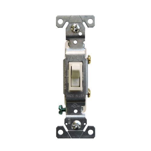 片切りスイッチ(ライトアーモンド) EATON社