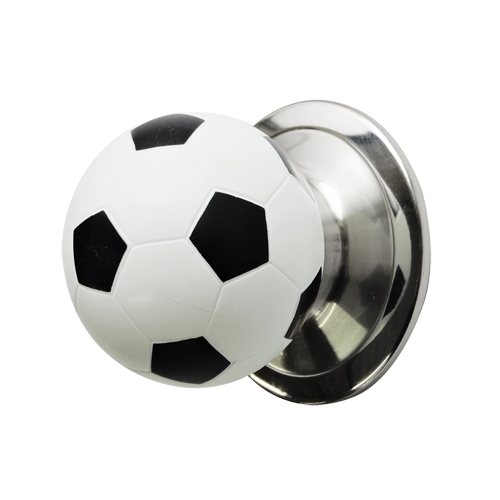 ドアノブ(空錠)サッカーボール型