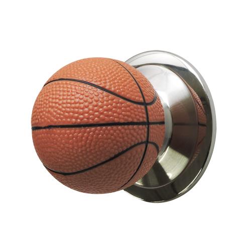 ドアノブ(空錠)バスケットボール型