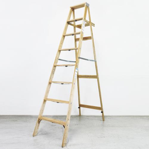 7ステップラダー(木製脚立)