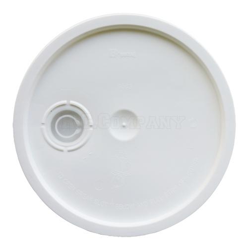 プラスチックバケツ(蓋)ホワイト -限定品-