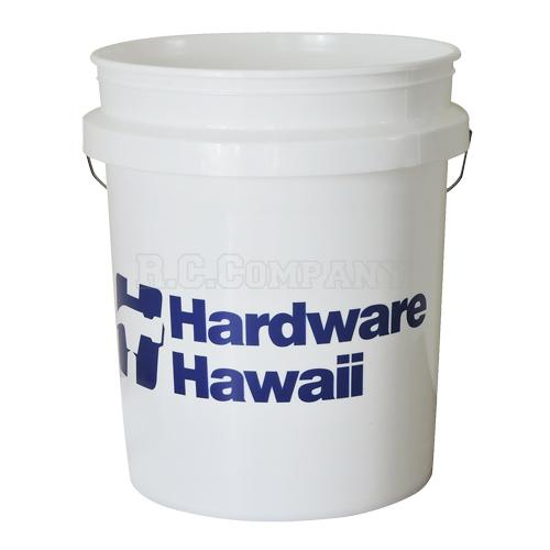 プラスチックバケツ HARDWARE HAWAII -限定品-