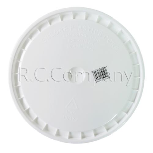 プラスチックバケツ(蓋)ホワイト B