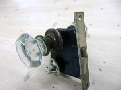 アンティークガラスドアノブ AGD-2