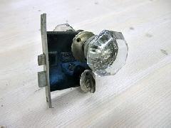 アンティークガラスドアノブ AGD-5