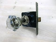 アンティークガラスドアノブ AGD-6