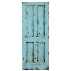 エイジングドア 4パネル(762)ブルー(即納品)