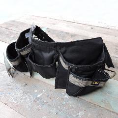 ワークエプロン12ポケット(ナイロン製腰袋)